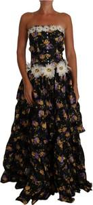 Sukienka Dolce & Gabbana z bawełny bez rękawów