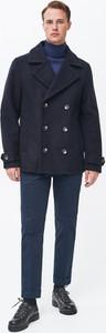 Płaszcz męski Reserved z wełny