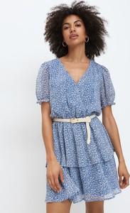 Sukienka Mohito w stylu casual z szyfonu mini