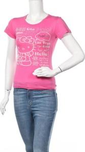 Bluzka Hello Kitty By Sanrio z krótkim rękawem z okrągłym dekoltem
