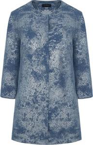 Niebieski płaszcz Vitovergelis w stylu casual
