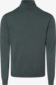 Zielony sweter Finshley & Harding z jedwabiu