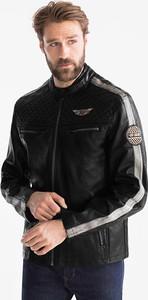 Czarna kurtka ANGELO LITRICO z bawełny