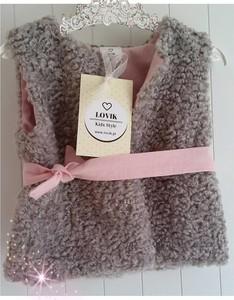 Kamizelka dziecięca Lovik Style For Kids z bawełny