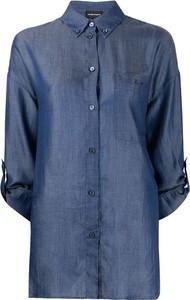 Niebieska koszula Emporio Armani