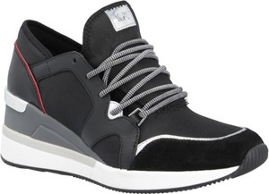fd3bb0785fbeb Sneakersy Michael Kors w młodzieżowym stylu na koturnie sznurowane