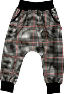 Spodnie dziecięce Bexa w krateczkę