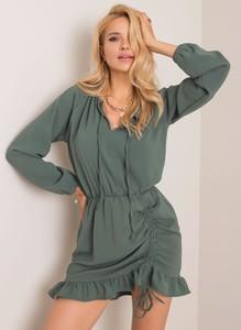 Sukienka Sheandher.pl z długim rękawem w stylu casual