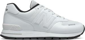 Buty sportowe New Balance ze skóry sznurowane w sportowym stylu