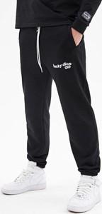 Spodnie sportowe Lucky Dice w sportowym stylu z dresówki