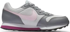 Buty sportowe Nike z płaską podeszwą z tkaniny md runner