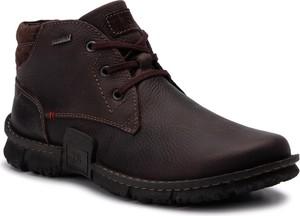 Czarne buty zimowe Josef Seibel sznurowane