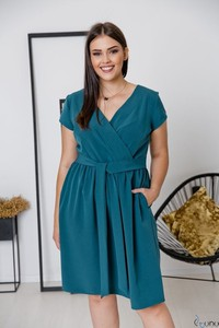 Sukienka tono.sklep.pl kopertowa w stylu casual