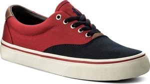 Tenisówki polo ralph lauren - thorton 816688428008 navy/red