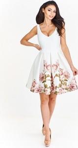 Sukienka Betty M mini bez rękawów