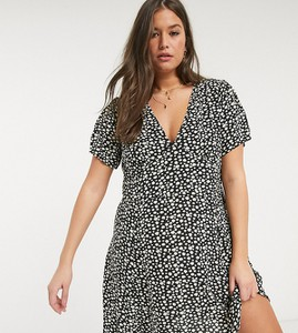 Sukienka Only Curve z dekoltem w kształcie litery v