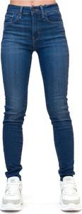 Niebieskie jeansy Levis w stylu casual