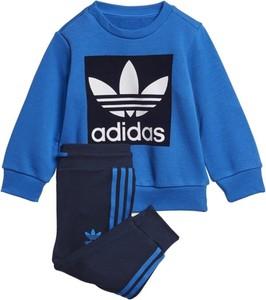 Niebieski dres dziecięcy Adidas Originals z dzianiny