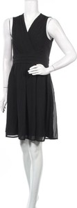 Czarna sukienka STREET ONE z dekoltem w kształcie litery v mini