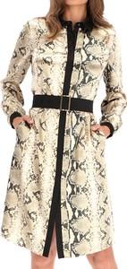 Sukienka Premiera Dona szmizjerka z długim rękawem