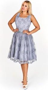 Sukienka Karla Fashion midi bez rękawów