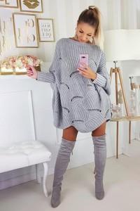 Sweter Ivet.pl w stylu casual z bawełny