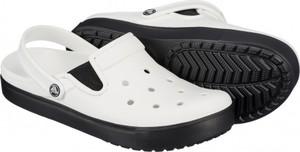 Białe buty letnie męskie crocs