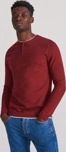 Koszulka z długim rękawem Reserved z bawełny