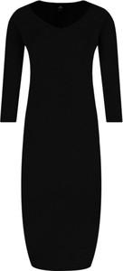 Sukienka Elisabetta Franchi midi z wełny