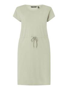 Sukienka Vero Moda z krótkim rękawem z okrągłym dekoltem mini