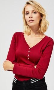 Bluzka Moodo w stylu casual z bawełny