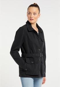 Czarna kurtka Dreimaster krótka w stylu casual