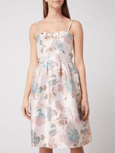 Sukienka Chi Chi London bez rękawów gorsetowa z dekoltem w kształcie litery v
