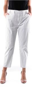 Spodnie Dondup z bawełny