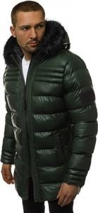Zielona kurtka Ozonee w stylu casual