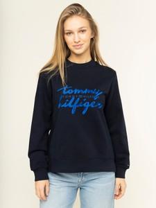 Bluza Tommy Hilfiger krótka w młodzieżowym stylu