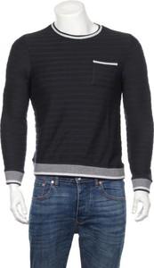 Czarny t-shirt Devred 1902 z długim rękawem