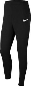 Czarne spodnie sportowe Nike z dresówki w sportowym stylu