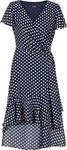 Sukienka Poza z dekoltem w kształcie litery v w stylu casual