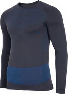 Granatowa koszulka z długim rękawem 4F