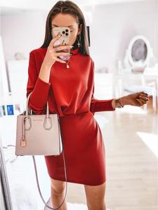 Czerwona sukienka magmac.pl mini