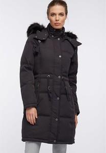 Czarny płaszcz Dreimaster w stylu casual