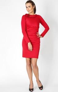 Czerwona sukienka sukienki.pl