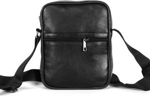 Czarna torba Domeno ze skóry