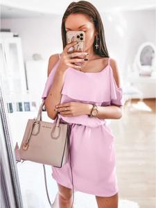 Różowa sukienka magmac.pl hiszpanka