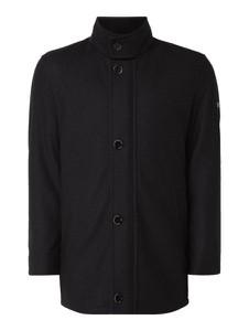 Czarna kurtka Pierre Cardin w stylu casual
