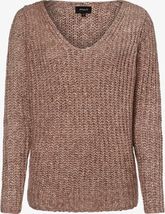 Różowy sweter Aygill`s z wełny w stylu casual