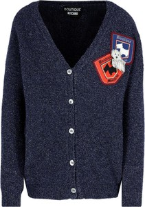Sweter Boutique Moschino z wełny