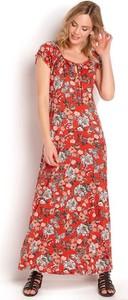 Sukienka Happy Holly maxi z dzianiny