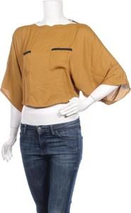 Bluzka Mango z okrągłym dekoltem w stylu casual